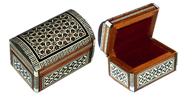 Egyptian mother of pearl boxes unique Jewelry box from Egypt gift shop