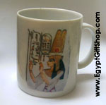 Egyptian Hieroglyphic Mugs