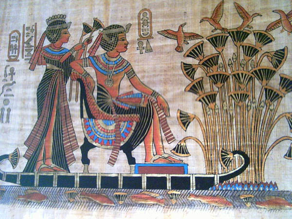 Egyptian Papyrus Paintings for Sale Online | Boldly Going