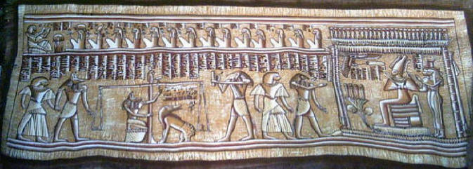Egyptian conception of the afterlife in the judgement day papyrus