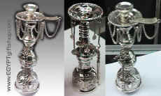 Egyptian silver arts